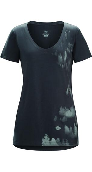 Arc'teryx Morning t-shirt Dames grijs